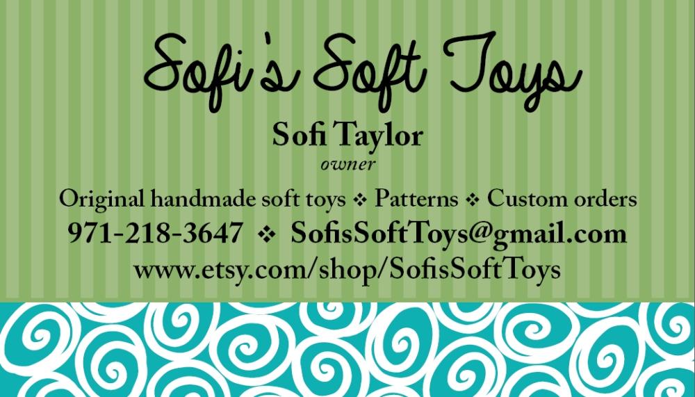 sofi soft toys