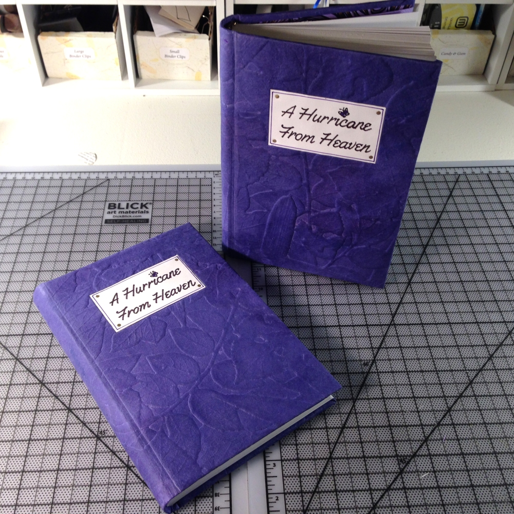 hand bound journals finished